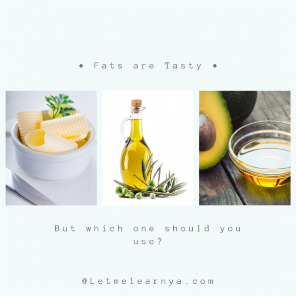 Different types of fats